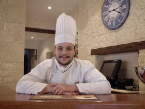 Traiteur Le chef du restaurant L'Estacade au Croisic