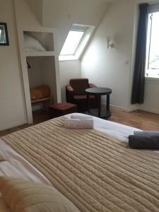 chambre 27 vue sur le port Hôtel le croisic L'Estacade