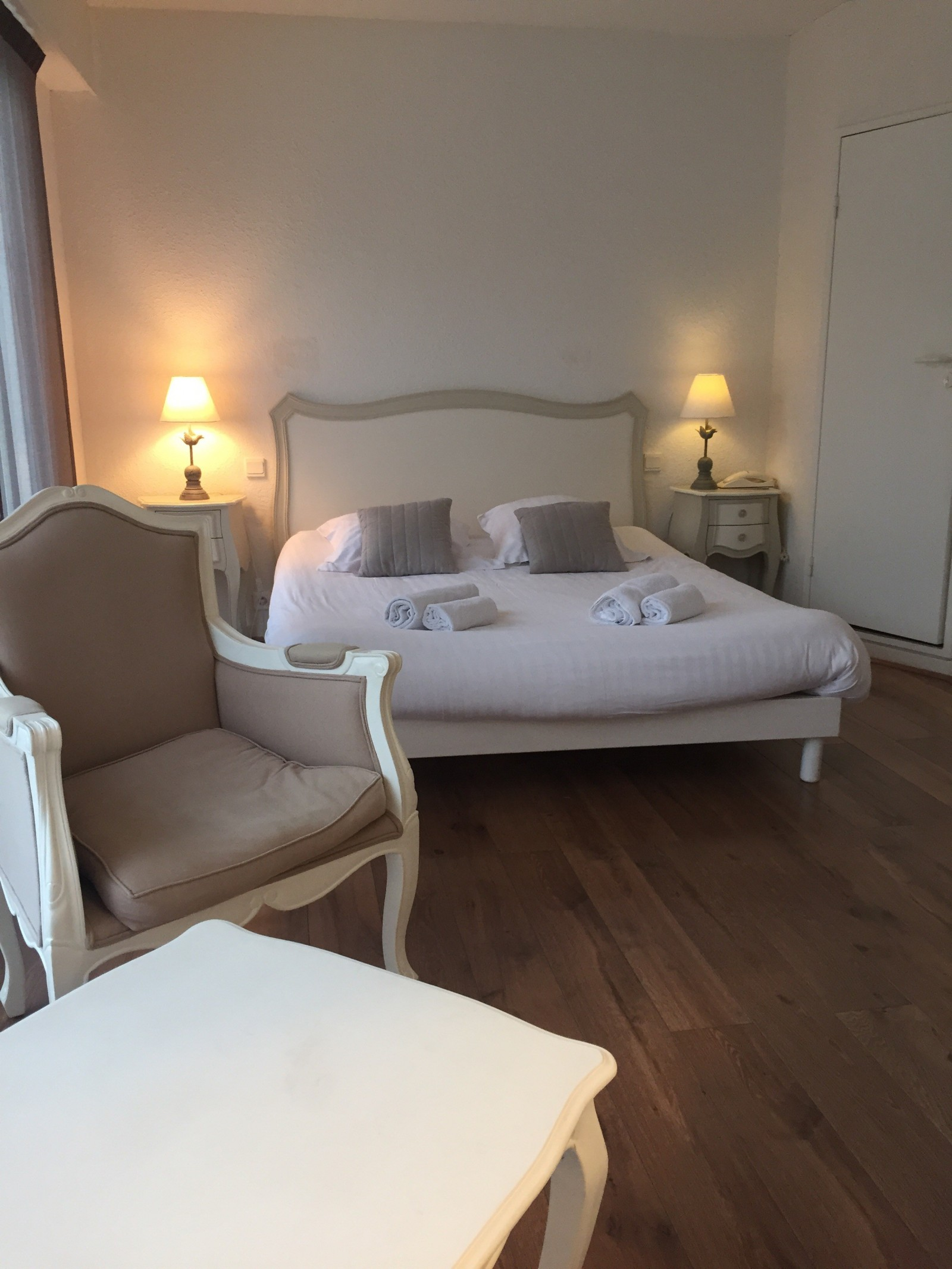 Chambre grand confort hôtel L'estacade Le Croisic grand confort